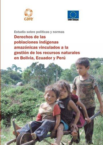 Derechos de las poblaciones indígenas amazónicas ... - CARE Perú