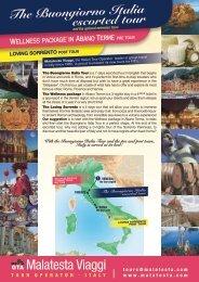 The Buongiorno Italia escorted tour - Malatesta viaggi
