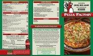 pizza factory - hughson - Hughson - Pizza Factory