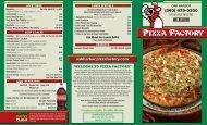 (360) 679-0300 - Oak Harbor - Pizza Factory