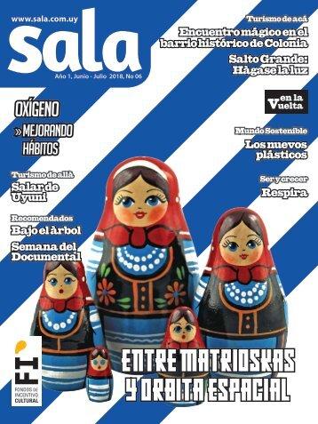 Revista Sala Nro 6 Julio - Agosto