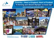 """Coventry - Heart of England, Heart of Football """"A ... - Coventry 2012"""