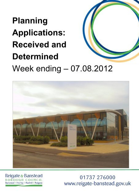 Planning Applications Reigate And Banstead Borough Council
