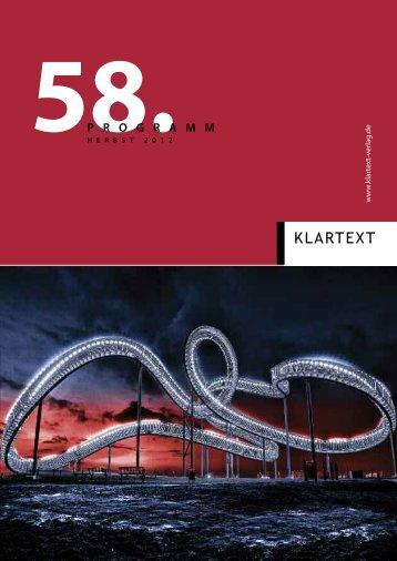 Natur erleben - Klartext Verlag