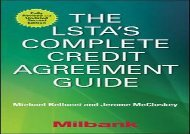 [+]The best book of the month The LSTA s Complete Credit Agreement Guide, Second Edition  [NEWS]