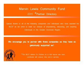 Eagle Golf Cars, LLC - Marvin Lewis Community Fund