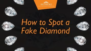 How to Spot a Fake Diamond