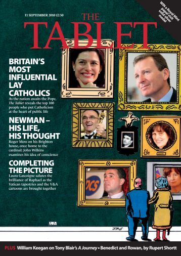 britain's most influential lay catholics newman – his life ... - The Tablet