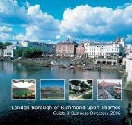 Richmond Business Directory 2006 - London Borough of Richmond ...