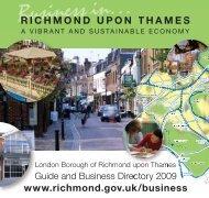 guide & business directory 2009 - London Borough of Richmond ...