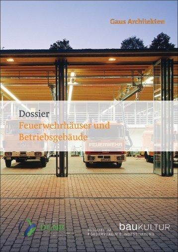 Gaus & Knödler Architekten: Feuerwehrhäuser und Betriebsgebäude