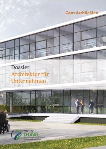 Gaus & Knödler Architekten: Architektur für Unternehmen und Gewerbe