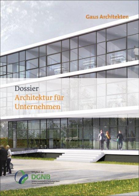 Gaus Architekten: Architektur für Unternehmen und Gewerbe