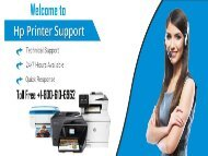 HP Printer Support | Call 1-800-610-6962 Instant Help