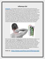 Inflamaya Gel - The Natural Formula For Joints Health!
