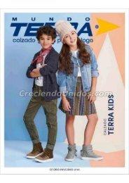 #639 Catálogo Mundo Terra Kids Otoño Invierno 2018 por Mayoreo