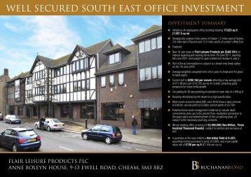 central london - Buchanan Bond Exchange