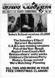 The Sainsbury Effect! Rotaract Reception - The Soho Society