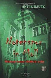 Antje Haugg: Notenspur in Moll (Leseprobe)
