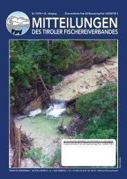 Tiroler Fischereiverband - Mitteilungen 01/2018