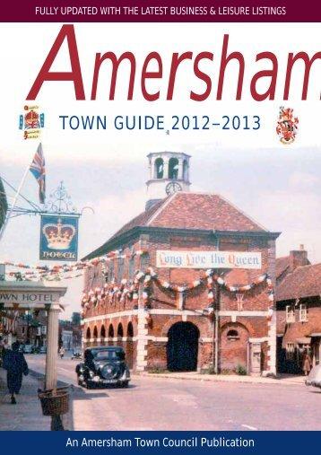 TOWN GUIDE 2012–2013 - Amersham Town Council