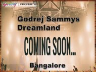Godrej Sammy Dreamland | Apartments | Price | Review