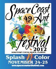 Download the full 2012 Program Guide - Space Coast Art Festival