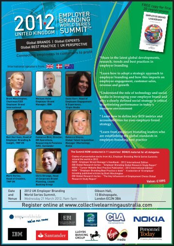 Employer Branding International Speakers From - Collective ...