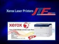 Xerox Laser Printers | Jtfbus.com