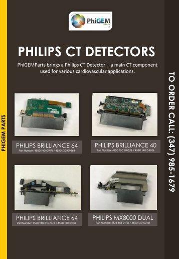 Philips CT Detectors-Always in Stock!
