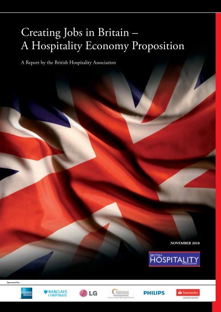 Creating Jobs In Britain A Hospitality Economy Proposition