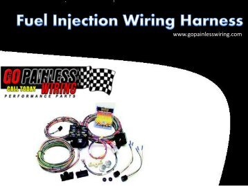Fuel Injection Wiring Harness