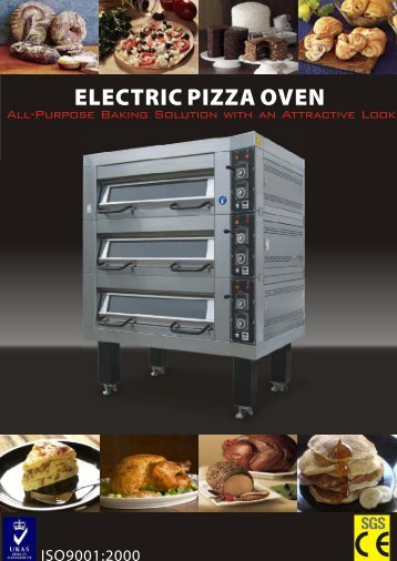 curved 3 deck 6 tray for Pizza Express - jendah food machinery