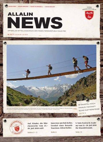 Allalin News Nr. 10/2018