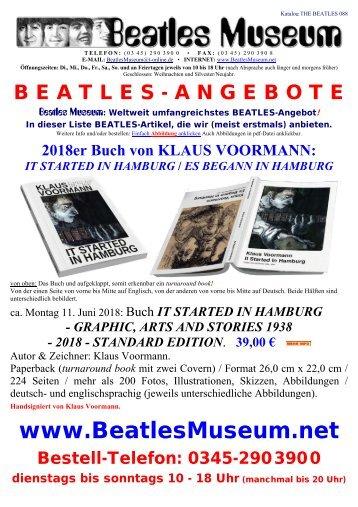 Beatles Museum - Katalog 88 mit Hyperlinks