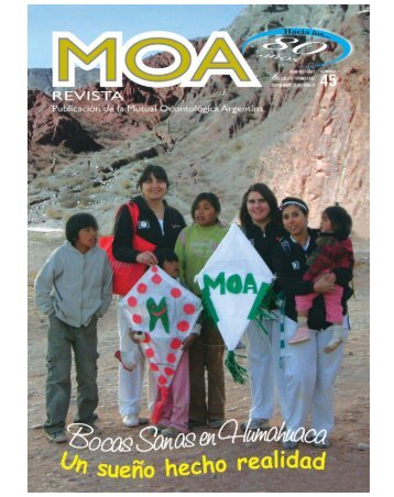 revista moa45.qxd - Mutual Odontológica Argentina