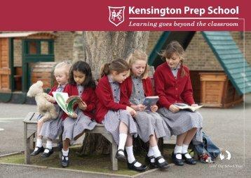 KPS Brochure 28/03/06 - Kensington Prep School - The Girls' Day ...
