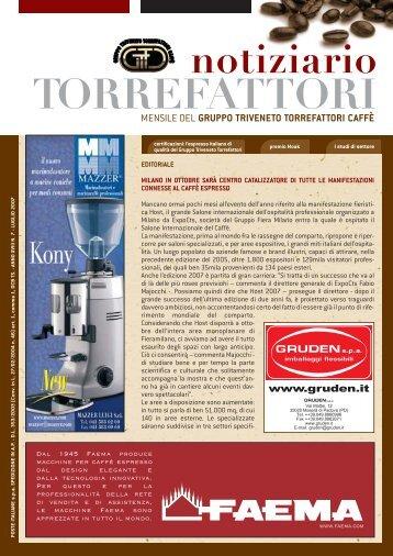 notiziario TORREFATTORI - Gruppo Triveneto Torrefattori di Caffè