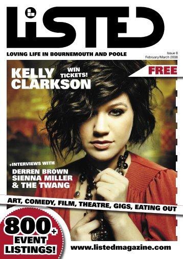 KELLY CLARKSON - ListedMagazine.com