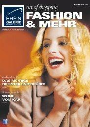 art of shopping - Rhein-Galerie, Ludwigshafen