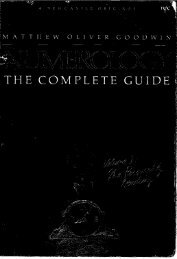 Numerology - The Complete Guide (vol 1 and 2)