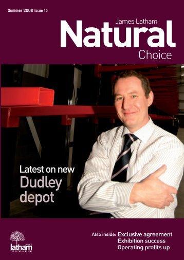 Issue 15 - Summer 2008 - James Latham plc