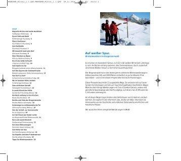 Winterwandern im Bregenzerwald