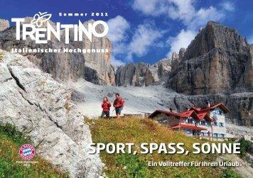 SPORT, SPASS, SONNE - Trentino