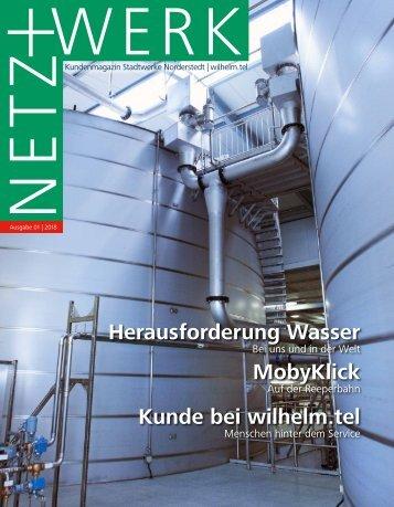 NETZ+WERK 01-2018 // Stadtwerke Norderstedt