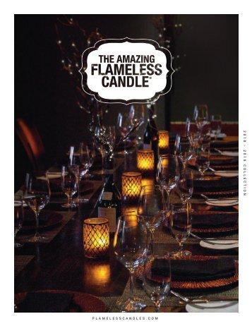 2018 - The Amazing Flameless Candle catalog