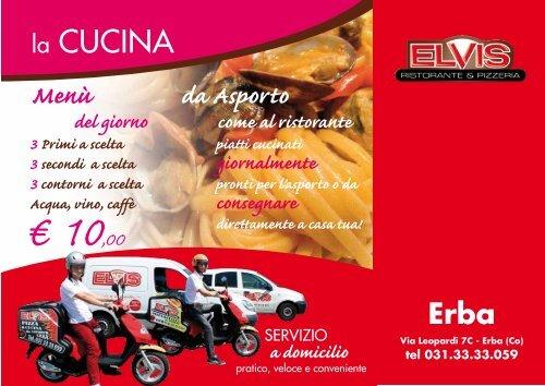 Menù da asporto ristorante di Erba - elvisristorantepizzeria.it ...