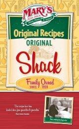 Mary Fazio, Founder - Mary's Pizza Shack