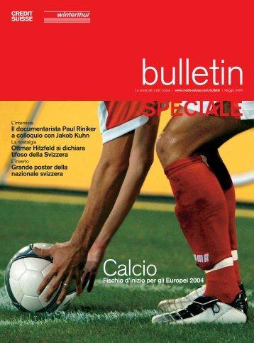 Calcio svizzero - Credit Suisse