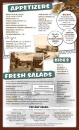 to view our menu! - Pat's Pizza